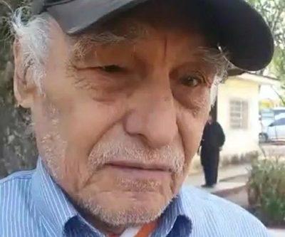 Dan por fallecido a anciano y le sacan pensión de tercera edad