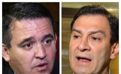 "HOY / Tratan de ""vyrorei"" la pelea entre ministro Petta y senador Ovelar"