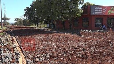 FRAM YA CONSTRUYÓ MÁS DE 1 KM. DE CALLES EMPEDRADAS EN EL CASCO URBANO