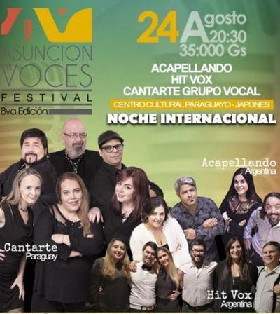 """Llega la 8va. edición de """"Asunción a Voces"""" » Ñanduti"""