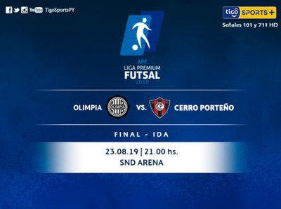 Olimpia y Cerro Porteño tienen el primer cruce por la final