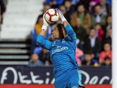 """Zidane: """"No contemplo la marcha de Keylor Navas"""""""