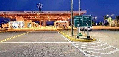 Habilitación del paso fronterizo en Represa Yacyreta solo para vehículos livianos