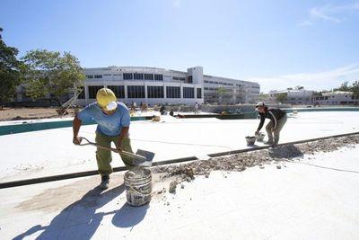 Feria de empleos para trabajar en construcción, esta tarde