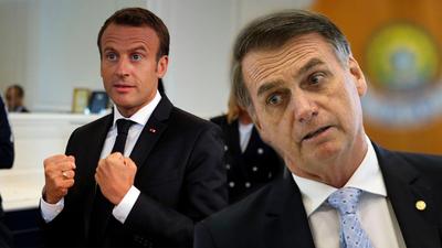 Macron acusa a Bolsonaro de mentir y se opondrá al acuerdo Mercosur–Unión Europea