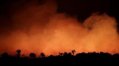 """Desde """"A todo pulmón Py"""" lamentan incendios forestales"""