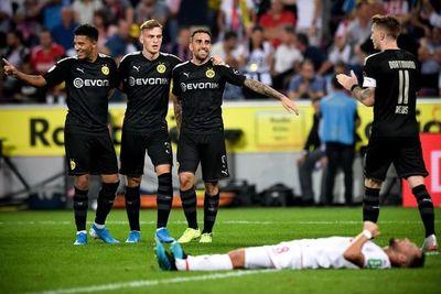 Alcácer rubrica la remontada del Dortmund