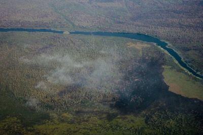 Viento sur ayuda a que fuego se quede del lado boliviano, afirma ministro Roa » Ñanduti