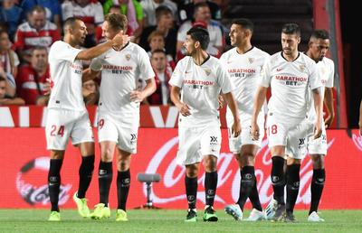 Sevilla se hace fuerte en casa de Granada