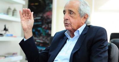 """El presi """"gashina"""" se  burló de Miguel Russo"""