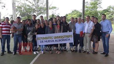 UNIVERSITARIOS DE NVA. ALBORADA LOGRAN TRANSPORTE GRATUITO