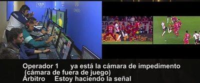 Revelan polémico audio de VAR en jugada de penal de River-Cerro
