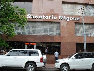 Informe de sanatorio no coincide con testimonio de familiares