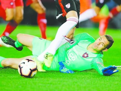 CONMEBOL avaló los penales contra CERRO