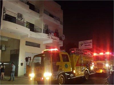Incendio deja una persona fallecida en Luque