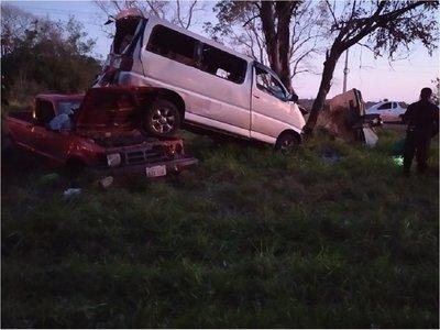 Un muerto y varios heridos en grave accidente de tránsito