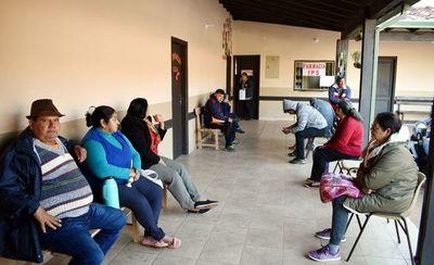 Puesto  sanitario  del  IPS en Piribebuy cuenta con apenas  tres médicos