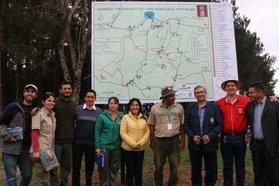 Guairá apunta a un turismo sostenible con opciones de eco aventura