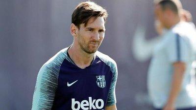 Messi no es convocado en Barcelona