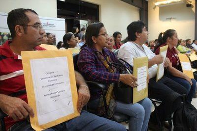 Desde este lunes Salud inicia recepción de carpetaspara cubrir 616 vacancias » Ñanduti