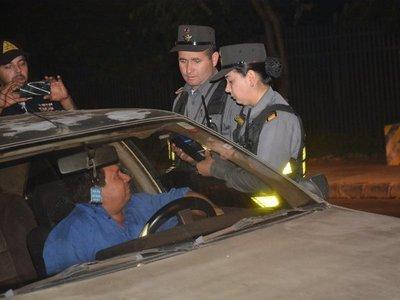 En una semana fueron retenidos 322 conductores bajo los efectos del alcohol