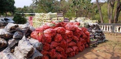 Cae importante carga de productos de contrabando