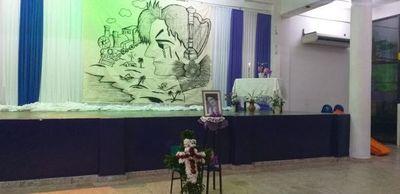 Triste adiós a docente fallecida en Luque