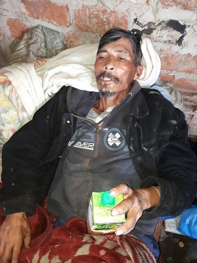 Argentina: Buscan a familiares de un paraguayo muy enfermo
