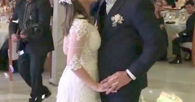 Se casó la hija traviesa de Palo
