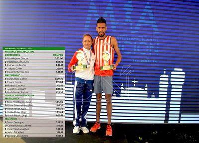 Martínez y Ayala suben al podio