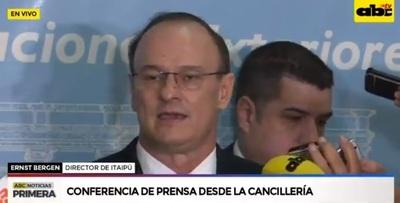Histórico: Bergen anunció que Itaipú podrá ser completamente auditada