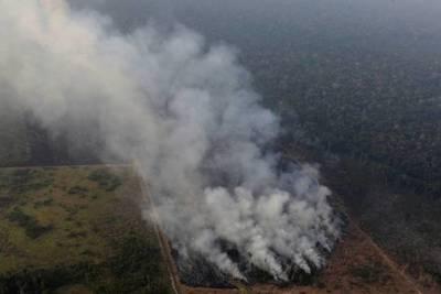 NUEVOS FOCOS DE INCENDIO EN EL PANTANAL PARAGUAYO