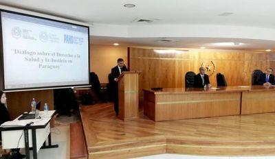 "Se inició taller sobre ""Judicialización de la Salud"""