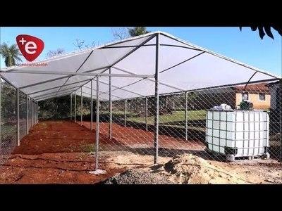 MUNICIPIO CONSTRUYE VIVIERO PARA PRODUCTORES DE CAMBYRETÁ