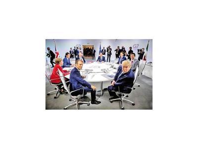 Trump deja el G7 con triunfo  en el conflicto  con China