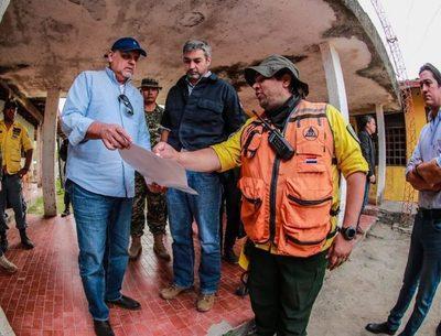 Jefe de Estado anuncia arribo de avión para extinguir focos de incendio en el Chaco