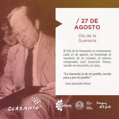 Conmemoran en Paraguay Día de la Guarania