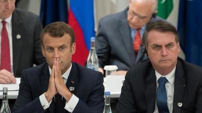 Bolsonaro aceptará la ayuda del G7 si Macron le pide disculpas