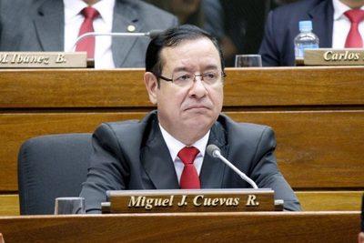 Quitan fueros a Miguel Cuevas