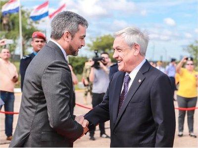 Presidente de Chile visitará Paraguay por incendios en el Chaco