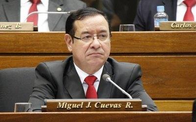Miguel Cuevas queda sin sus fueros para someterse a la Justicia