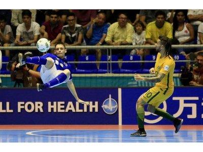 Brasil no tuvo piedad de los australianos y aplasta 11-1