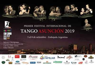 Asunción será sede del Festival Internacional de Tango