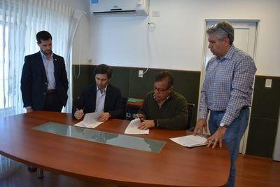 Firman acuerdo en Yacyretá para seguir con adecuación de la línea de 500 kV