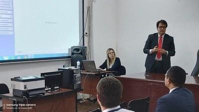 Llevan adelante cronograma de Capacitación Operativa del Sistema de Gestión Jurisdiccional JUDISOFT, en Juzgados de Paz de Alto Paraná
