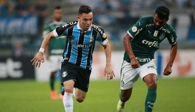 Palmeiras y Gremio por el paso a las semifinales de la Copa