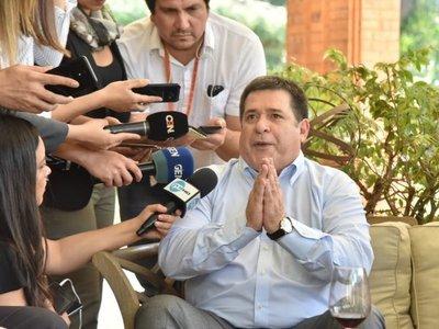 Horacio Cartes pide personas más idóneas en el Gobierno