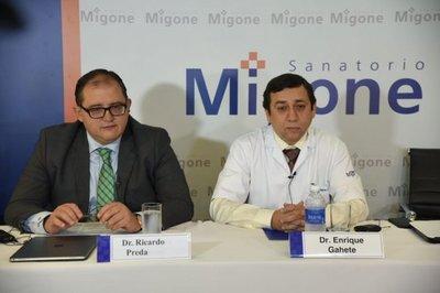 Sanatorio reafirma que Renato recibió atención médica en todo momento
