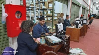 Buscan optimizar espacio y procesos en el Archivo General de los Tribunales Alto Paraná