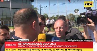 Detuvieron a Nicolás de la Cruz